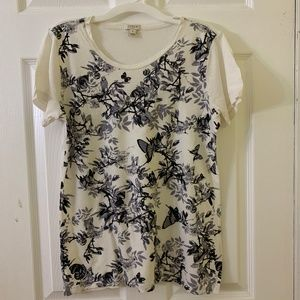 J. CREW SHORT SLEEVES T-SHIRT, SIZE SMALL